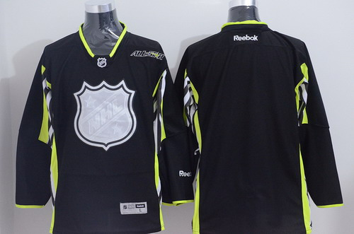2015 NHL All-Stars Blank Black Jersey