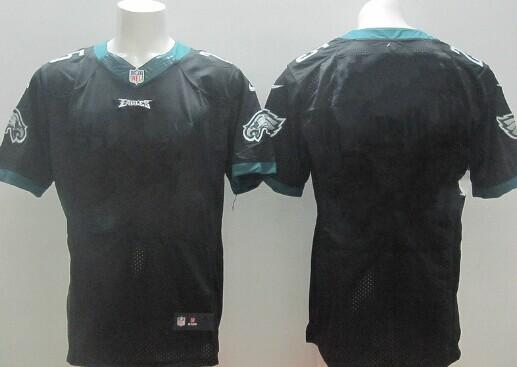 c25b60b0e Men s Philadelphia Eagles Black Custom Color Rush Legend NFL Nike ...
