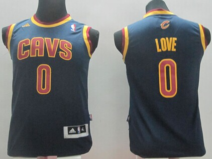 6bc45bceb ... Kyrie Irving adidas NBA Mens Player T-Shirt Cleveland Cavaliers 0 Kevin  Love Navy Blue Kids Jersey ...