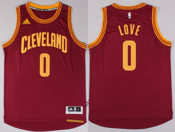 ... Cleveland Cavaliers 0 Kevin Love Revolution 30 Swingman 2014 New Red  Jersey ... e7211ec4e