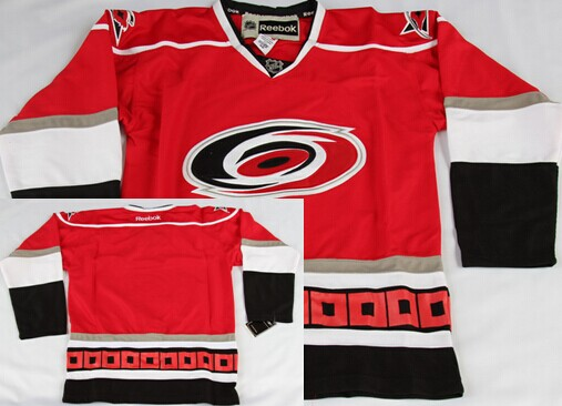Carolina Hurricanes Blank Red Third Jersey