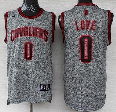 brand new de6ab 145e5 cleveland cavaliers 0 kevin love gray static fashion jersey