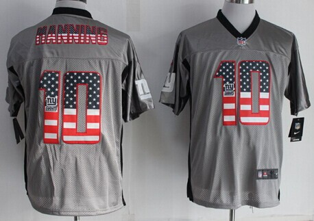 new concept 6a986 f7a93 nike new york giants 10 eli manning 2014 usa flag fashion ...