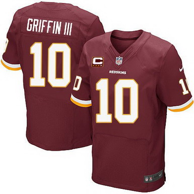 Nike Washington Redskins 10 Robert Griffin Iii Red C