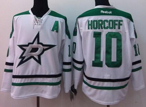 Dallas Stars #10 Shawn Horcoff 2013 White Jersey
