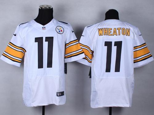 fc8833fd7 Nike Pittsburgh Steelers  16 Lance Moore White Elite Jersey on sale ...