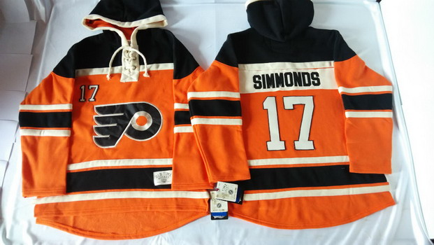 1793160e0 ... Jersey Old Time Hockey Philadelphia Flyers 17 Wayne Simmonds 2012  Winter Classic Orange Hoodie ...