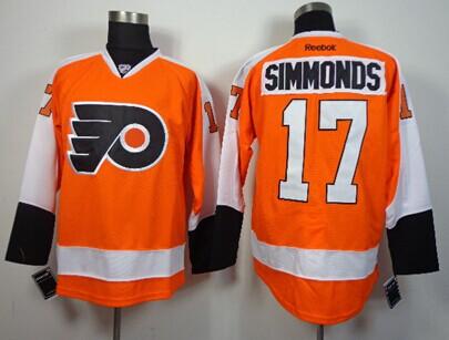 9cc6d2e2c ... 2012 Winter Classic Orange Jersey Philadelphia Flyers 17 Wayne Simmonds  Orange Jersey ...