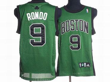 0b1da6291 ... Wholesale Price Boston Celtics 9 Rajon Rondo Green With Black Swingman  Jersey ...