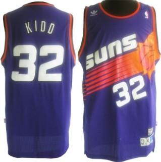 ... Phoenix Suns 32 Jason Kidd Purple Swingman Throwback Jersey ... 630c172f5