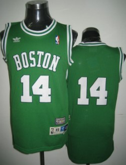 2d009dc9aa6 ... Boston Celtics 14 Bob Cousy Green Swingman Throwback Jersey Boston  Celtics Jersey 44 Danny Ainge Green Revolution 30 Authentic ...