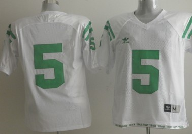 Norte Dame Fighting Irish #5 Everett Golson Under The Lights White Jersey
