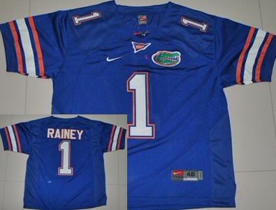 Florida Gators #1 Chris Rainey Blue Jersey