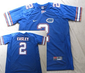 Florida Gators #2 Jeff Demps Blue Jersey