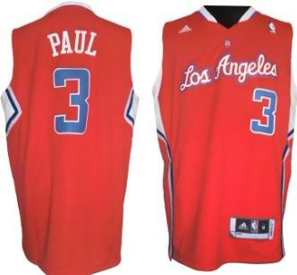 0180fb347 ... Los Angeles Clippers 3 Chris Paul Revolution 30 Swingman Red Jersey ...