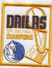 Dallas Mavericks 2011 The Finals Champions Patch