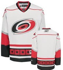 Carolina Hurricanes Blank White Third Jersey