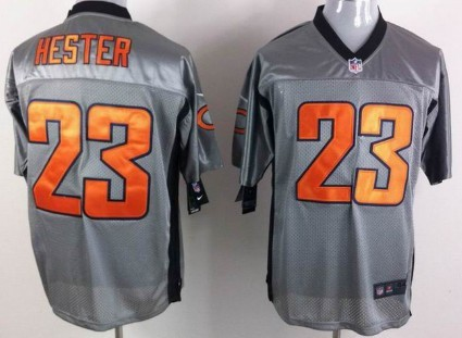 15 brandon marshall lights out black jersey 129.99 nike chicago bears 23 devin hester gray shadow el