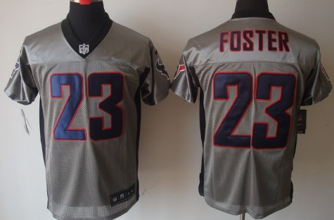 ... NFL Jersey 80 Nike Houston Texans 23 Arian Foster Gray Shadow Elite  Jersey Nike Texans 80 Andre Johnson Red Alternate Mens Stitched ... b0e5ad044