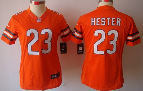 Nike Chicago Bears  23 Devin Hester White Limited Womens Jersey on ... de1055723