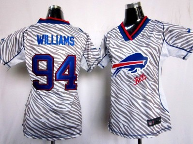 e8e8235f0 ... czech nike buffalo bills 94 mario williams 2012 womens zebra fashion  jersey clearance nfl jerseys buffalo