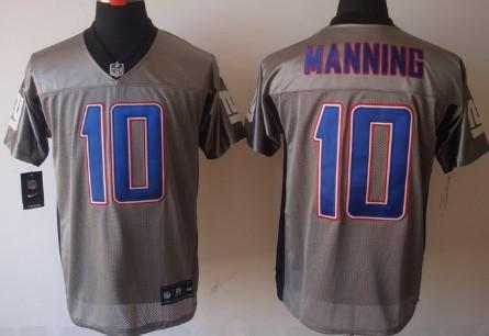 New York Giants 90 Jason Pierre-Paul Elite Grey Shadow Jersey