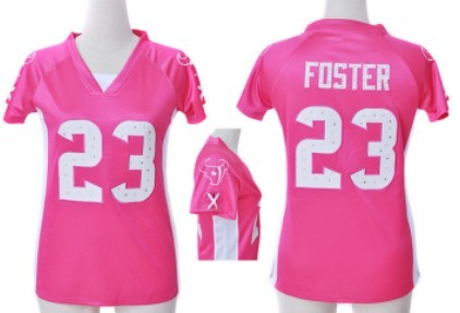 ef3aaab1 23 elite arian foster houston texans womens jersey nfl draft him ...
