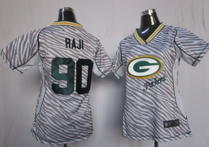 Nike Green Bay Packers #32 Cedric Benson Green Game Womens