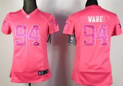 d7564587a ... 19 Miles Austin pink(fashion camo Nike Dallas Cowboys 94 DeMarcus Ware  Pink Sweetheart Diamond Womens Jersey ...