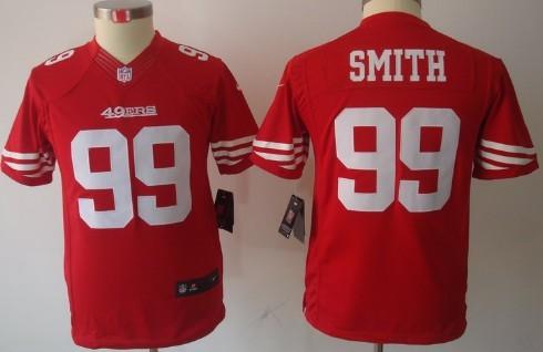 ... Nike San Francisco 49ers 99 Aldon Smith Red Limited Kids Jersey ... dc365b9f9
