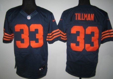 wholesale 90 julius peppers blue elite jersey nike chicago bears 33 charles  tillman blue with orange 0920c06ae