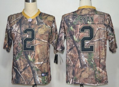 buy popular a5c41 1ad32 Nike Atlanta Falcons #2 Matt Ryan Camo Realtree Elite Jersey ...
