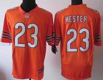 f2fef5f7f ... Nike Chicago Bears 23 Devin Hester Orange Limited Jersey ...