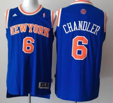 ... New York Knicks 6 Tyson Chandler Revolution 30 Swingman 2013 Blue Jersey  ... b3ef53c46