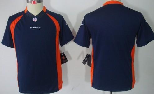 purchase cheap 0b1c0 4cc3b nike denver broncos blank orange limited kids jersey