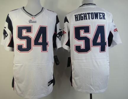 ... Nike New England Patriots 54 Donta Hightower White Elite Jersey ... 84fdc5b6e