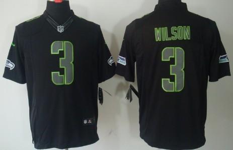 check out 026e2 6601b Nike Seattle Seahawks #24 Marshawn Lynch Black Impact ...
