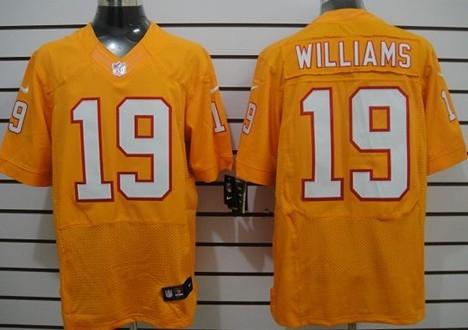 ... Nike Tampa Bay Buccaneers 19 Mike Williams Orange Elite Jersey ...