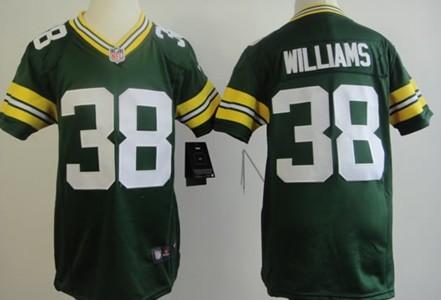 35c2b583 Nike Green Bay Packers #32 Cedric Benson White Game Kids Jersey on ...