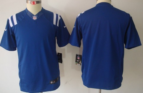 nike indianapolis colts blank blue limited kids jersey mens indianapolis colts andrew luck