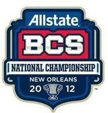 2012 BCS Bowl Champions Patch