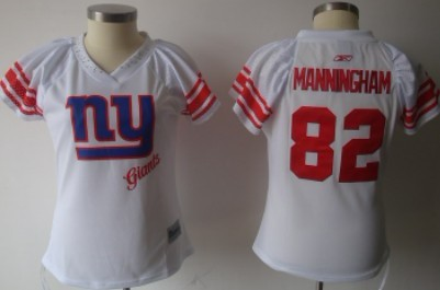 1a12282a21b New York Giants  82 Mario Manningham White 2011 Womens Field Flirt Fashion  Jersey