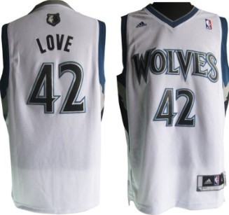 best website e9267 ace4a minnesota timberwolves 42 kevin love revolution 30 swingman ...