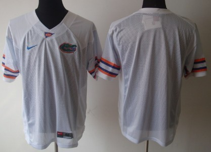 Florida Gators Blank White Jersey