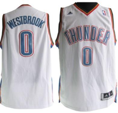 a8fba6f1b ... mens oklahoma city  blue jersey oklahoma city thunder 0 russell  westbrook revolution 30 swingman white jersey