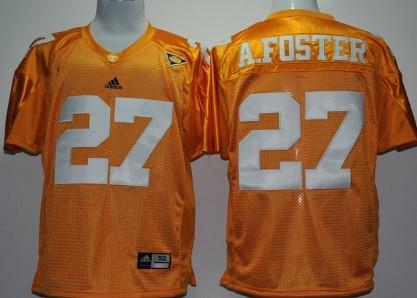 Tennessee Volunteers #27 Arian Foster Orange Jersey