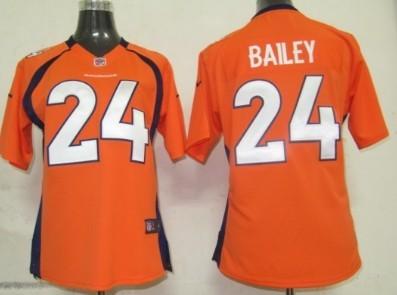 new concept c32f8 66308 Nike Denver Broncos #58 Von Miller Blue Game Womens Jersey ...