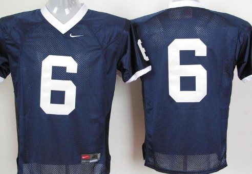 Penn State Nittany Lions #6 Navy Blue Jersey