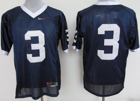 Penn State Nittany Lions #3 Navy Blue Jersey