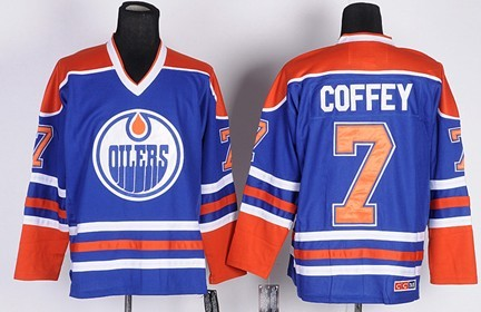 bfe2b2bf9 edmonton oilers 7 paul coffey royal blue throwback ccm jersey